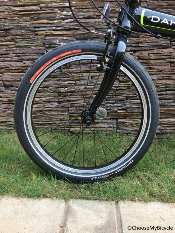 Dahone Vybe D7 (2016) Ride Quality