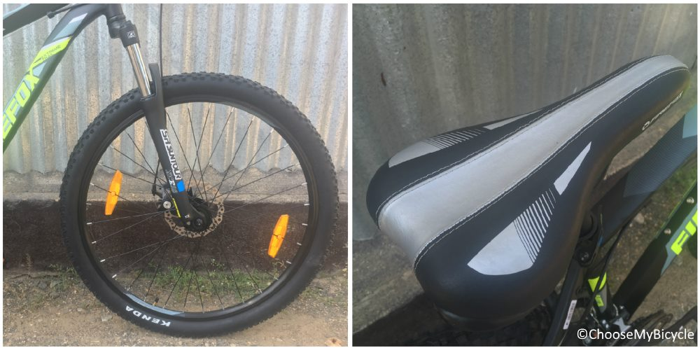 Firefox Flextrail 27.5D Wheels and Saddle
