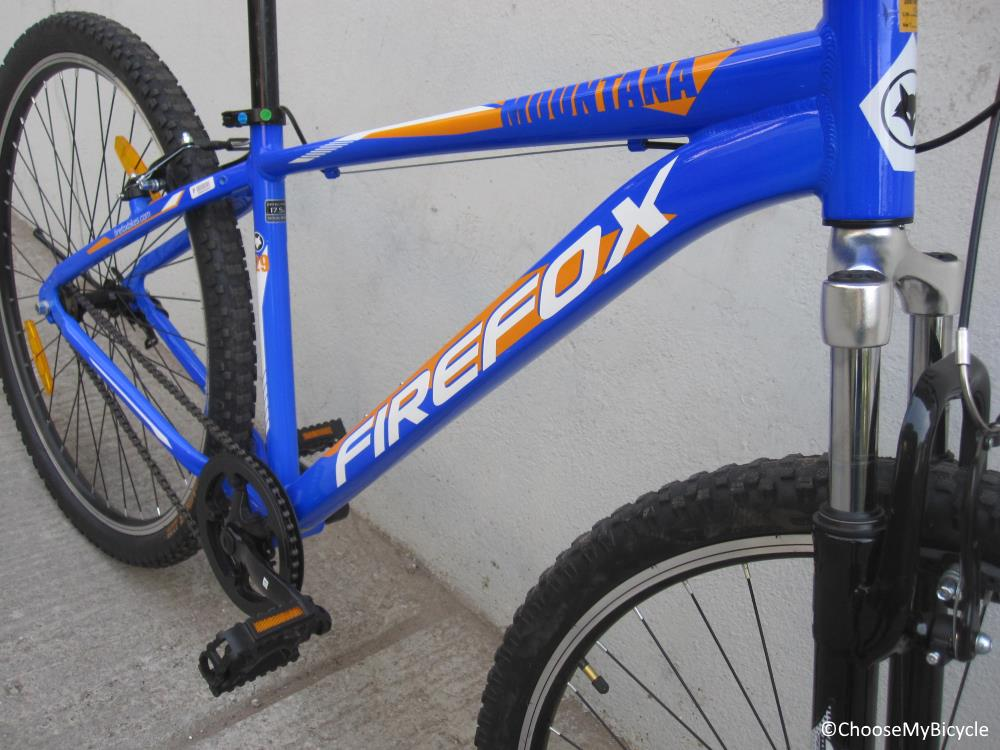 Firefox Mountana - Single Speed Frame, Fit and Comfort