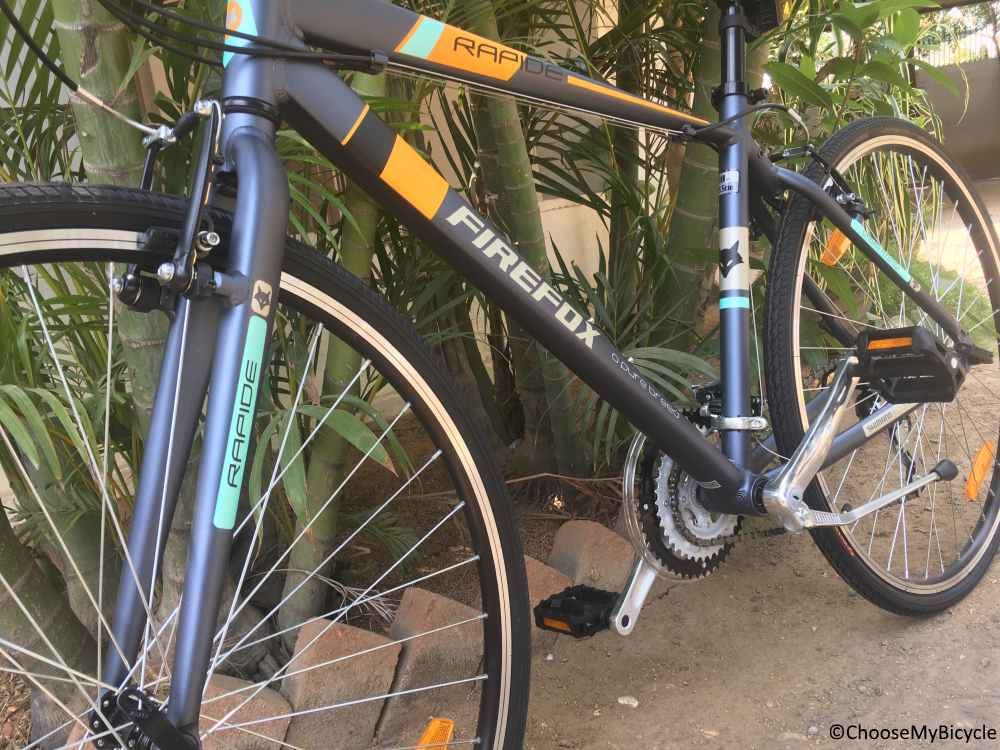 Firefox Rapide 21S (2017) Frame,Fit and Comfort