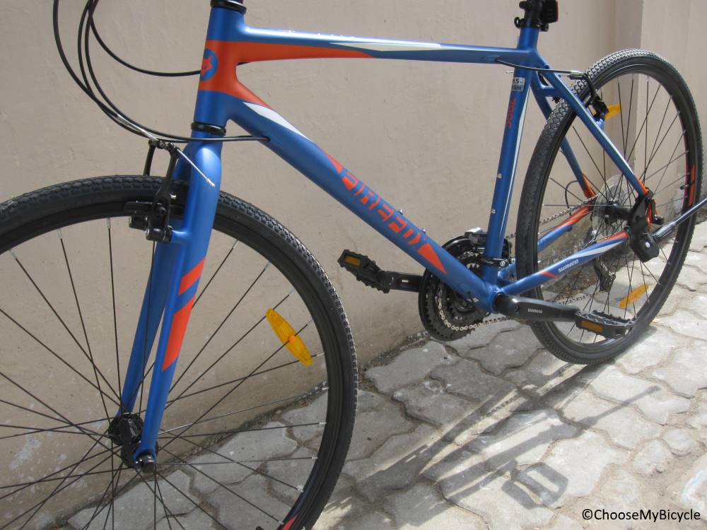 Firefox Volante Frame, Fit and Comfort