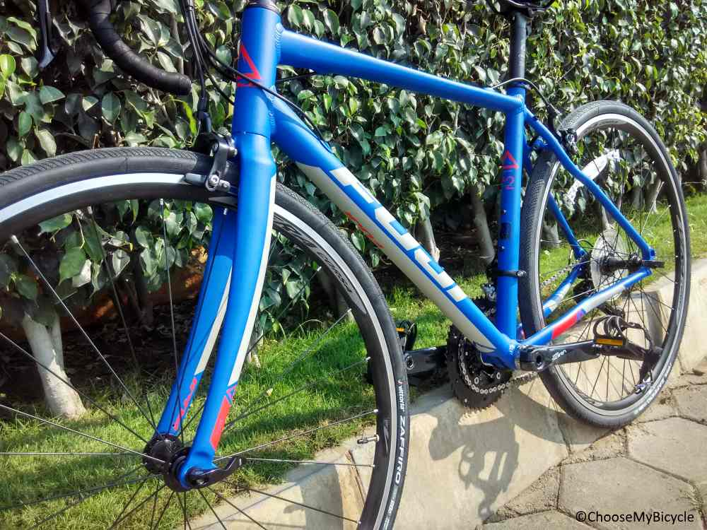 Fuji Sportif 2.1 (2018) Frame, Fit and Comfort