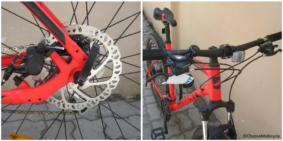 Giant ATX 1 (2018) Brakes and Steering