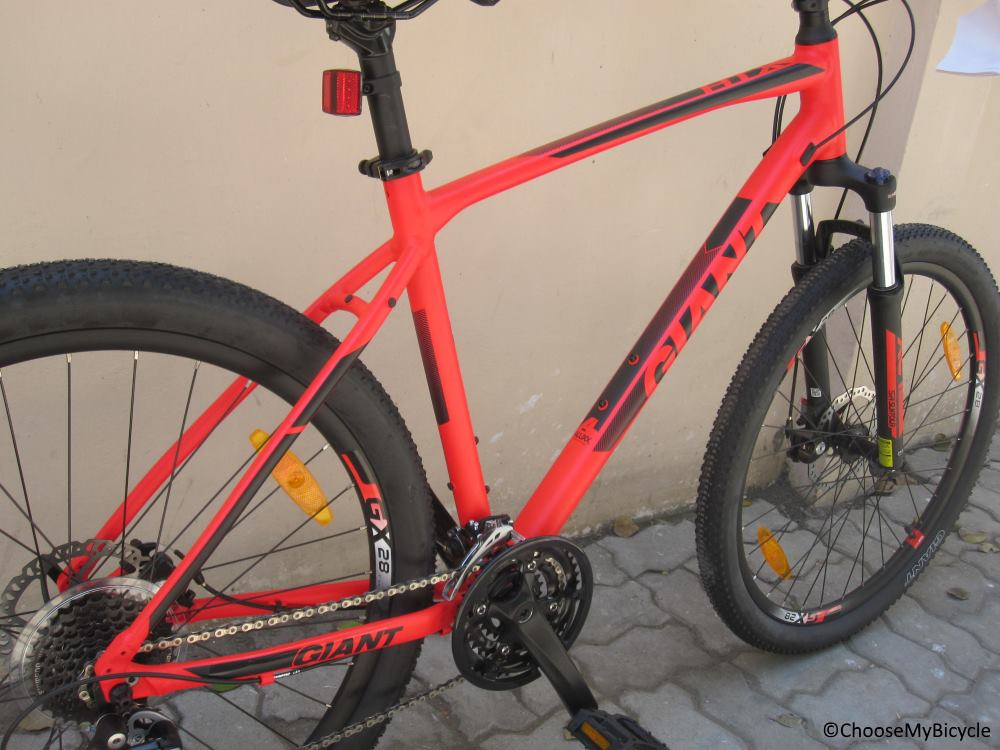 Giant ATX 1 (2018) Frame, Fit and Comfort