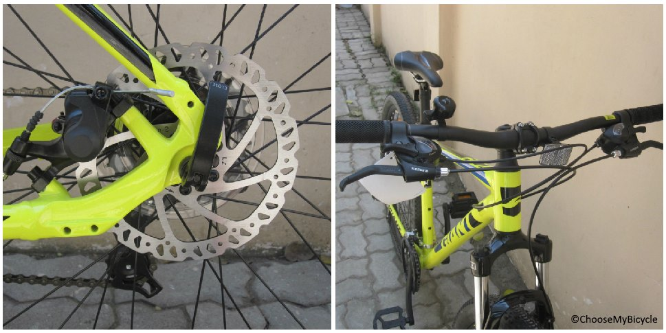 Giant ATX 2 (2018) Brakes and Steering