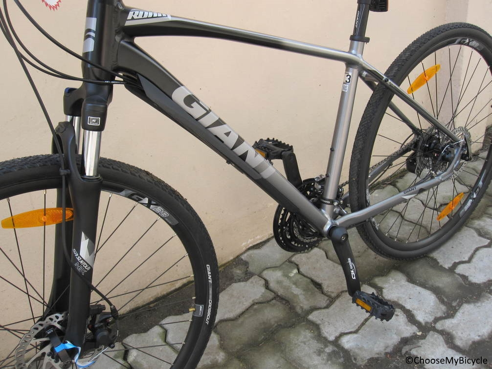 Giant Roam 3 Disc (2017) Frame, Fit and Comfort