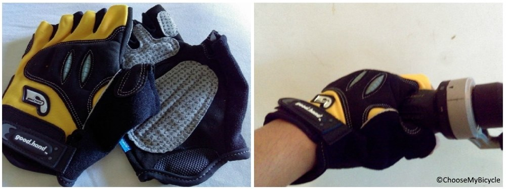 Good Hand Half Finger Gloves Yellow Design and Technology