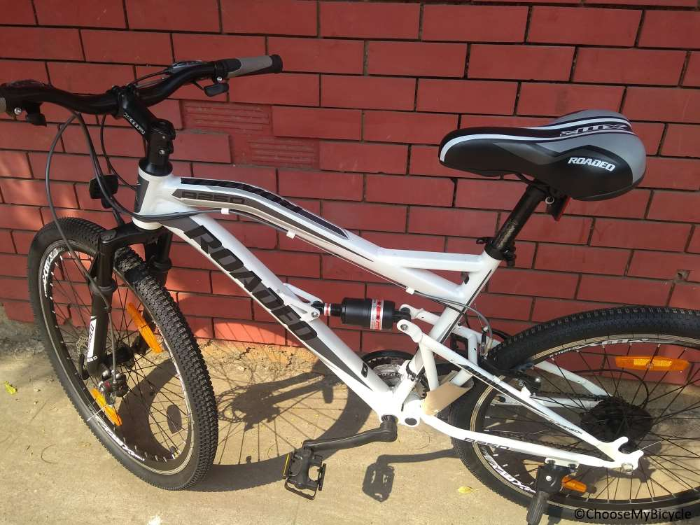 Hercules Roadeo A250 (2017) Frame, Fit and Comfort