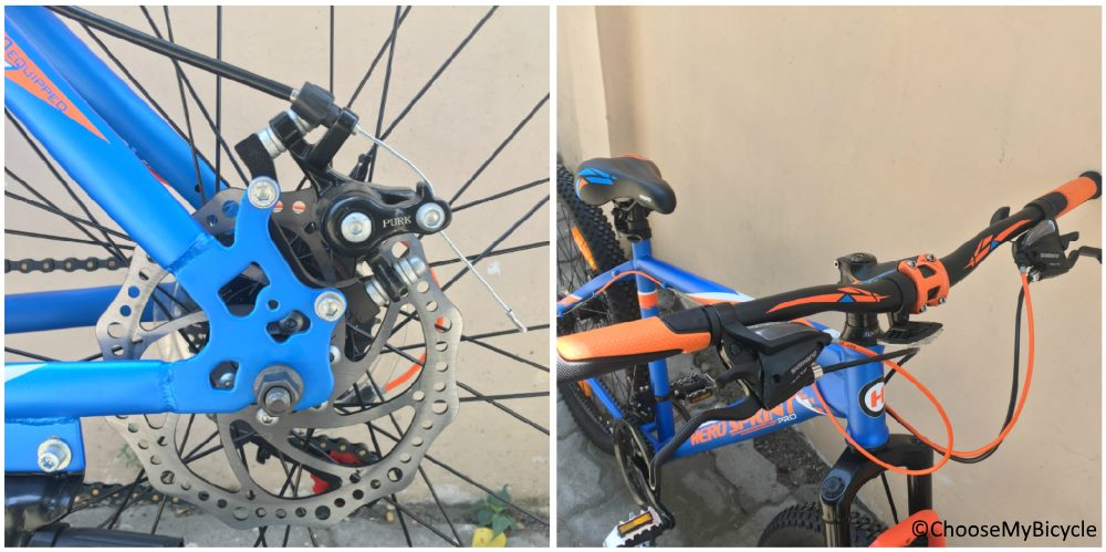 Hero Sprint Pro Ceralo 26T Brakes and Steering