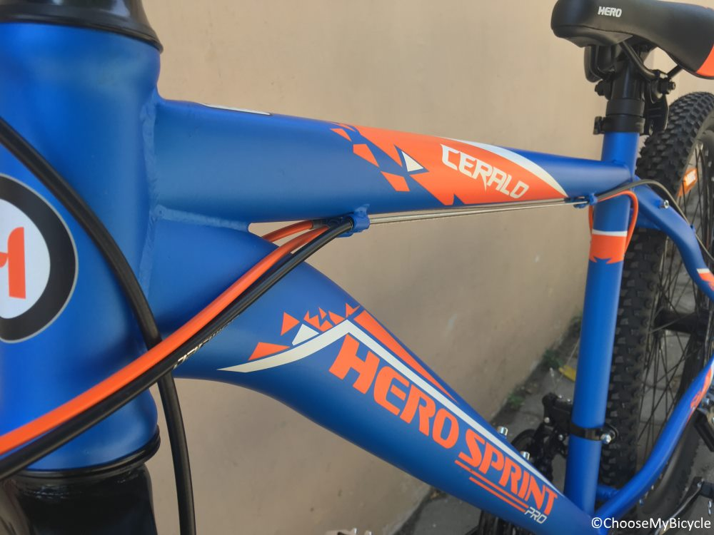 Hero Sprint Pro Ceralo 26T Review