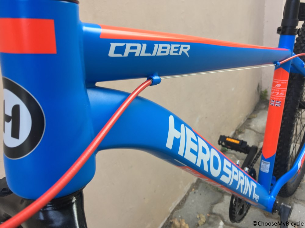 Hero Sprint Pro Caliber 27.5 D Review