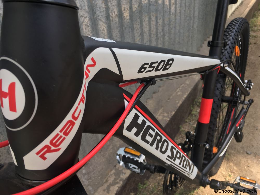 Hero Sprint Pro Reaction 27.5T Design