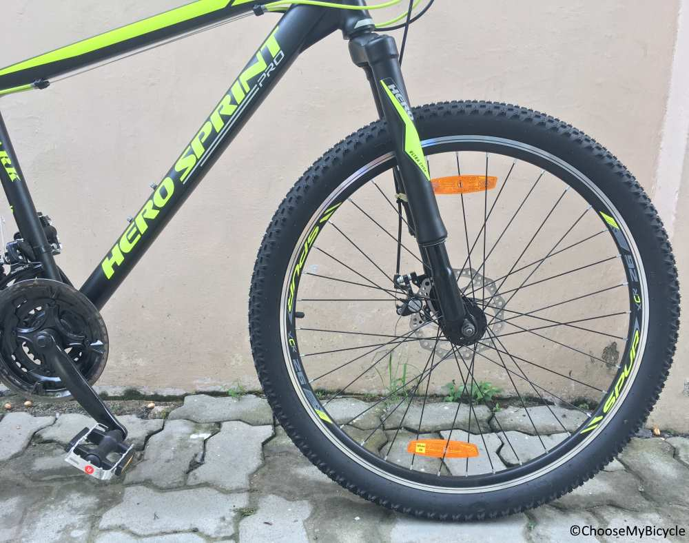 Hero Sprint Pro Spark 26T Review