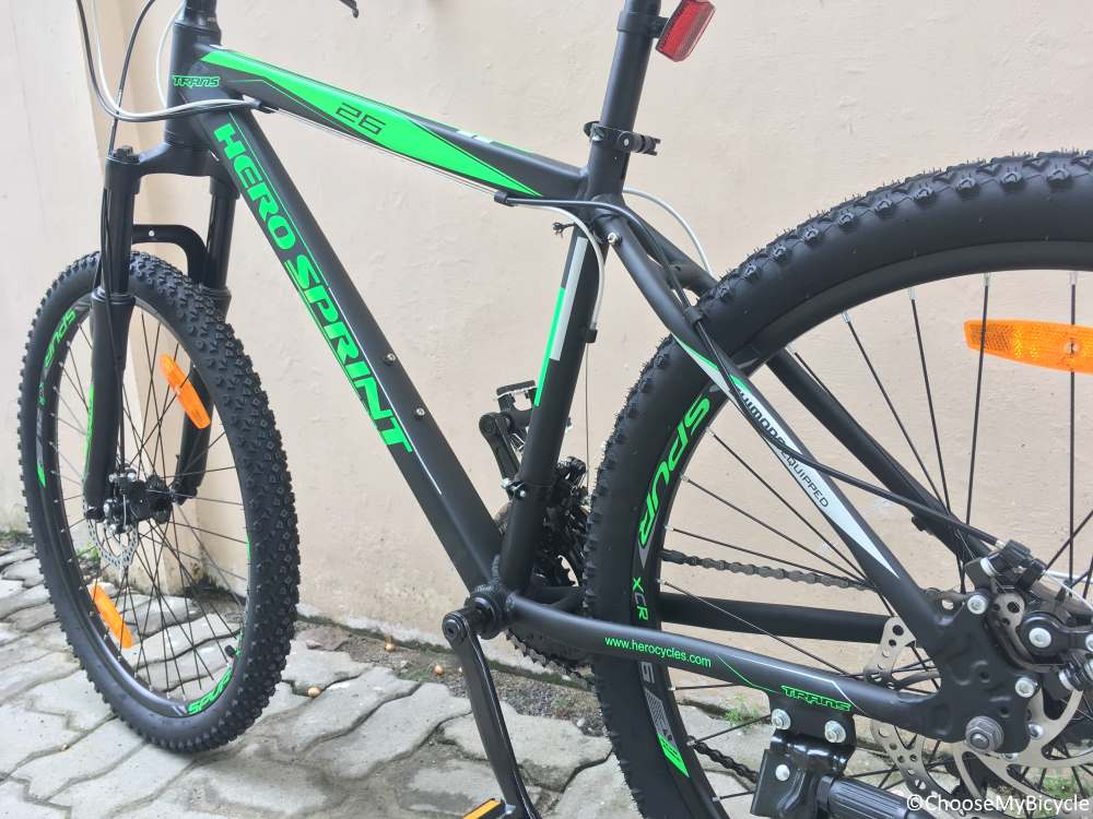 Hero Sprint Trans 26T Review