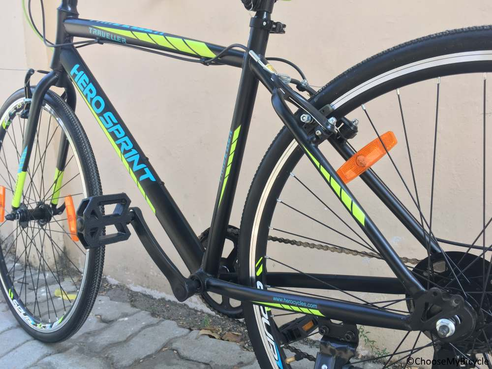Hero Sprint Traveller 700c 7 Speed Review