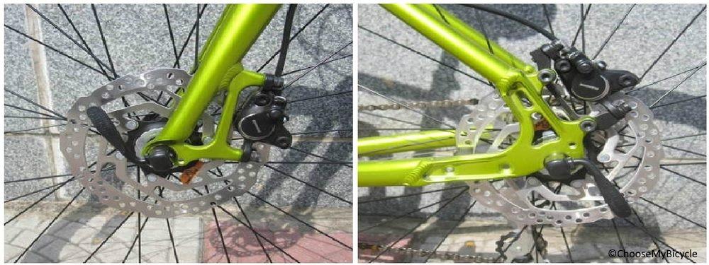 Merida Crossway Urban 20D (2018) Brakes and Steering