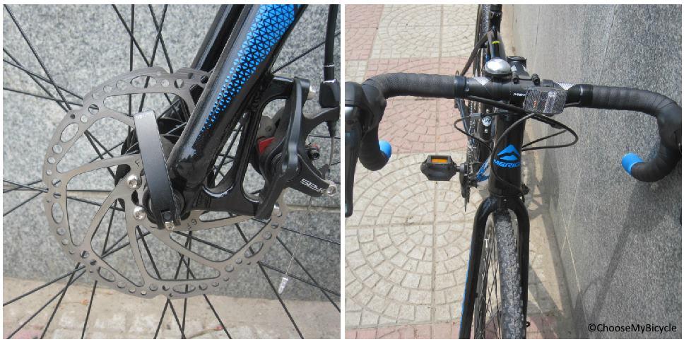 Merida Cyclo Cross 300 (2017) Brakes and Steering
