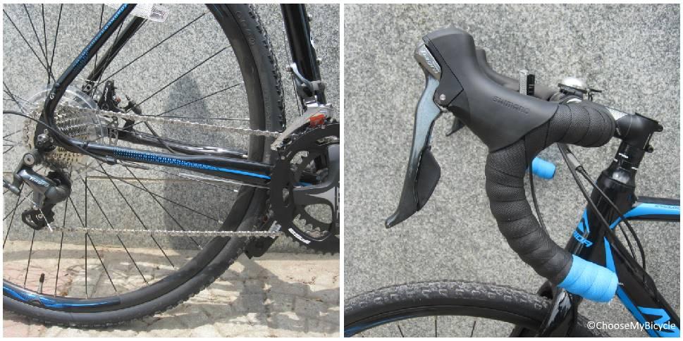 Merida Cyclo Cross 300 (2017) Gearing