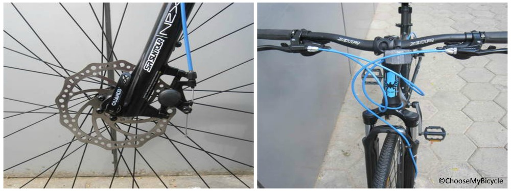 Montra Blues 1.2 Disc (2017) Brakes and Steering