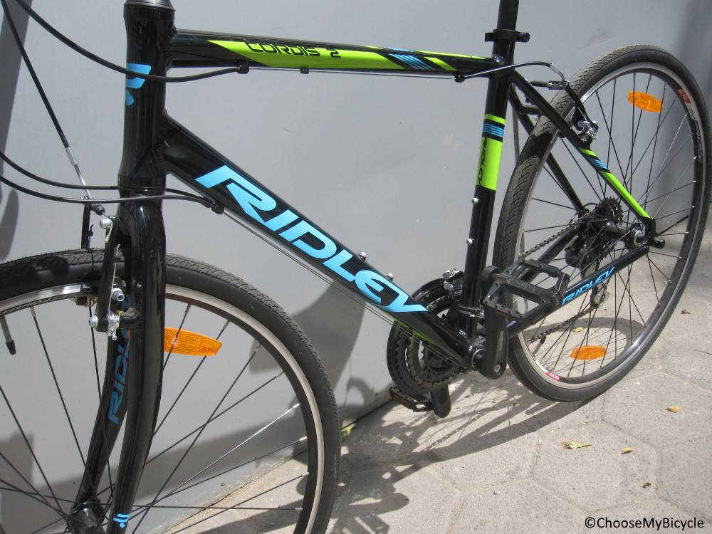 Ridley Cordis 2 (2017) Frame, Fit and Comfort