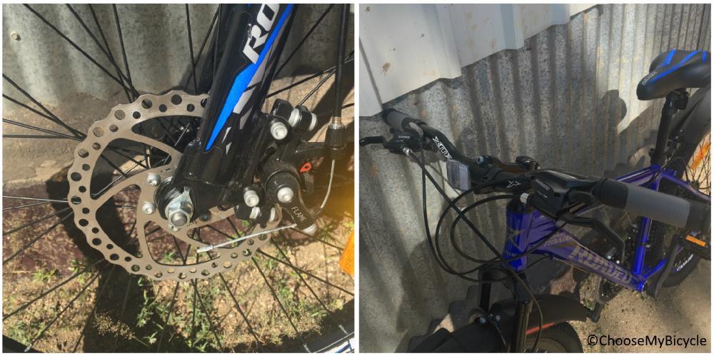 Roadeo A75 Nickel Blue 2018 Brakes and Steering