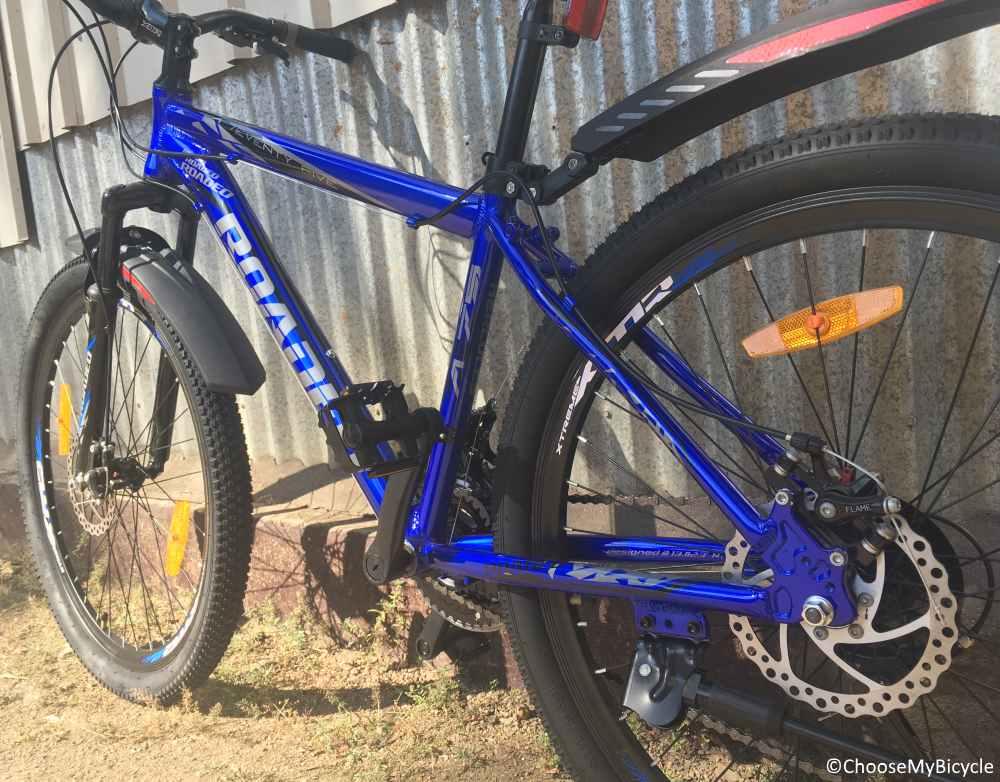 Roadeo A75 Nickel Blue 2018 Frame