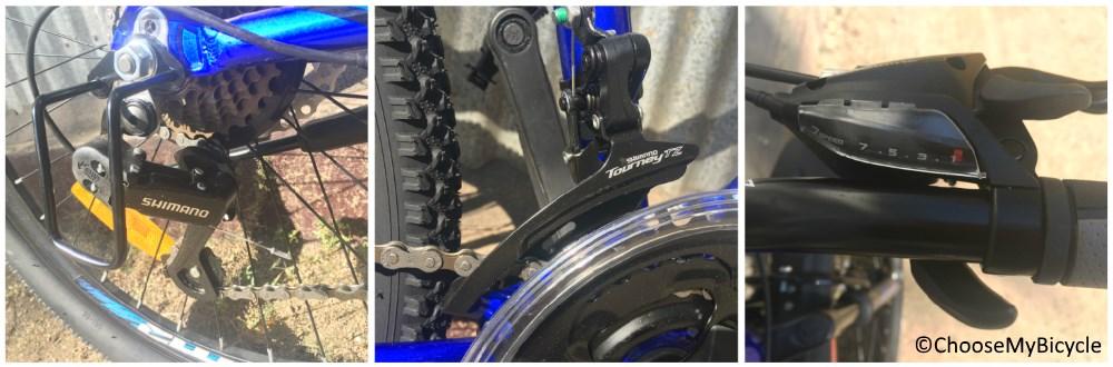 Roadeo A75 Nickel Blue 2018 Gearing