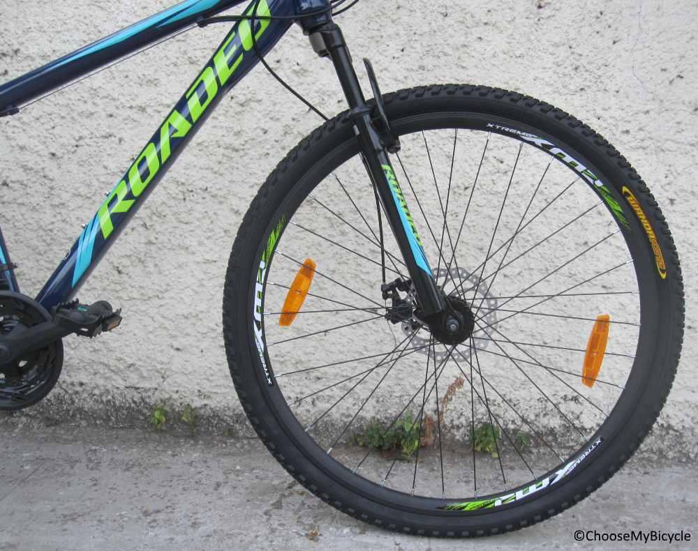 Roadeo Fugitive 29 (2018) Tires