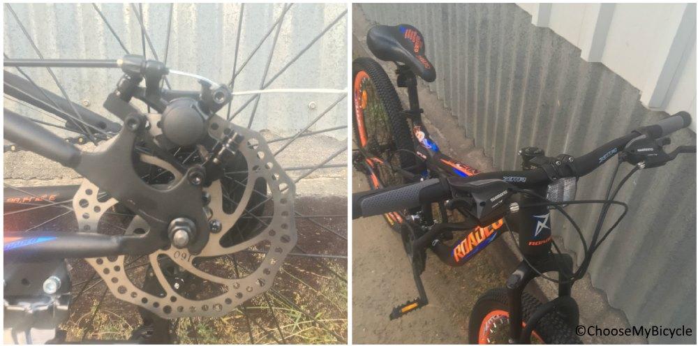 Roadeo Hannibal 27.5 2018 Brakes and Steering
