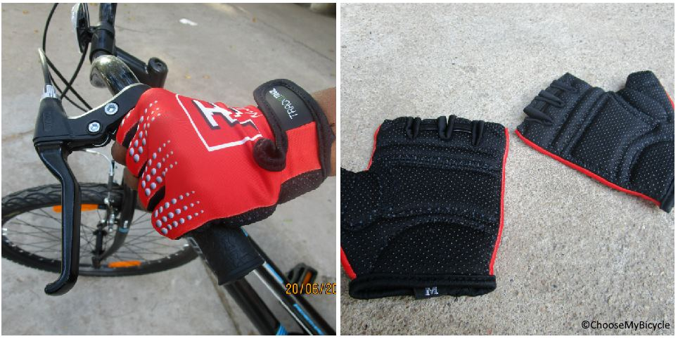 Track and Trail F3 Gloves Red Review