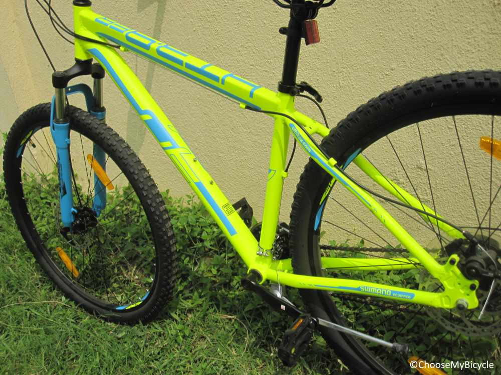 Urban Trail HT 3.9 Frame, Fit and Comfort
