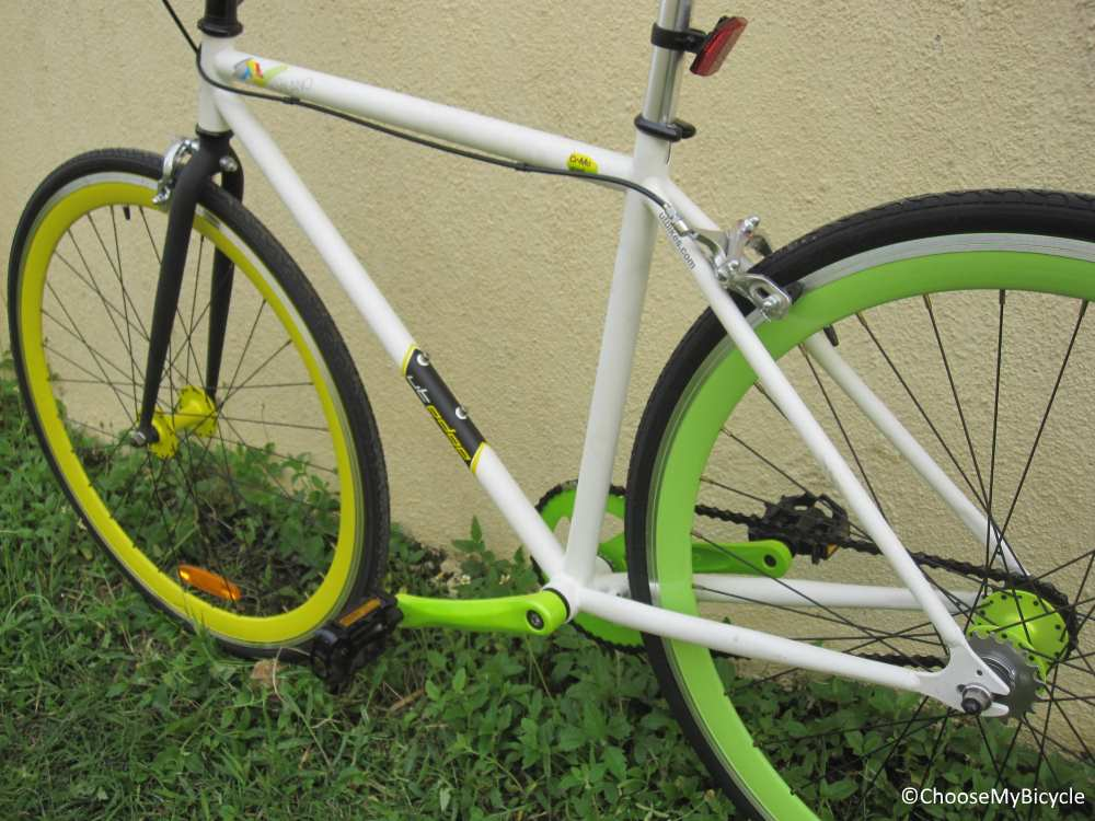 Urban Trail Milano Fixie (2016) Frame,Fit and Comfort