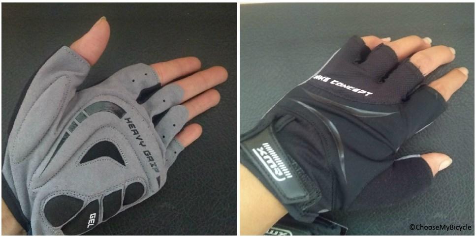 XMR Bike Concept Gel Gloves - Black Design and Technology