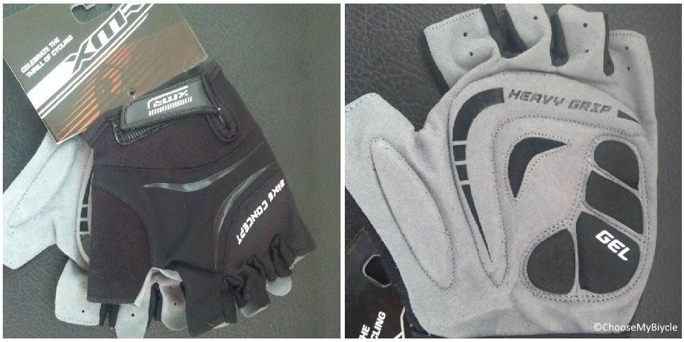 XMR Bike Concept Gel Gloves - Black Usage, Fit and Size