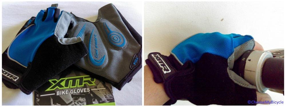 XMR Gloves Blue/Black Design and Technology