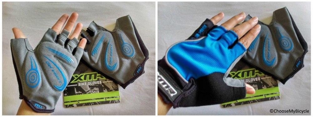 XMR Gloves Blue/Black Usage, Fit and Sizes