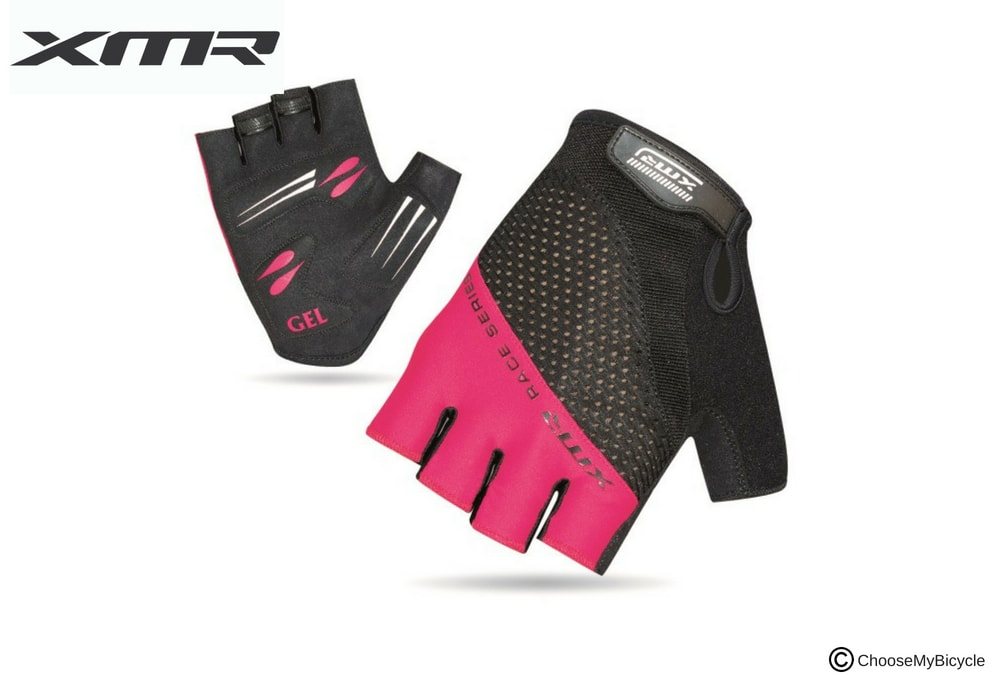XMR Race Series Gel/Foam Gloves - Black/Light Pink Review
