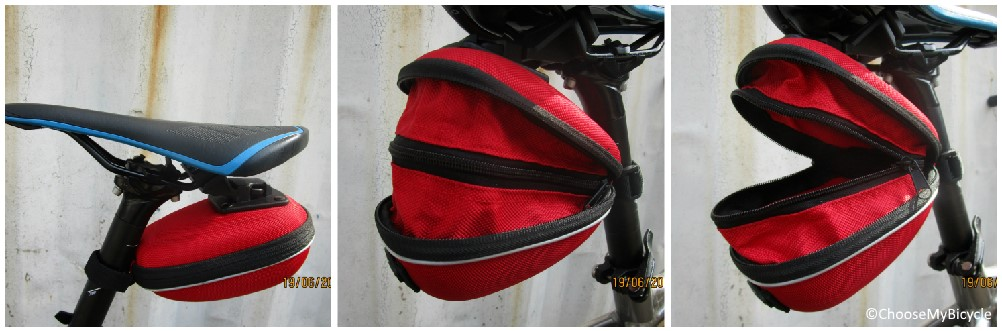 XMR Saddle Bag Hard Red Review