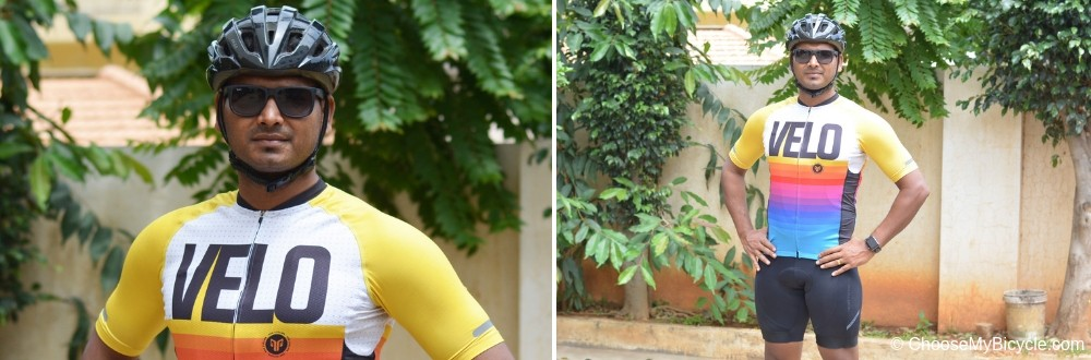 2Go Men's Cycling Cycling Jersey - Velo Love - White - Yellow Customer Review