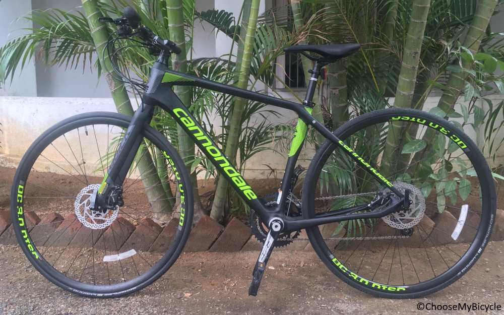 ecf1049a1f0 Cannondale Quick Carbon 1 2017 Snapshot Review | ChooseMyBicycle.com