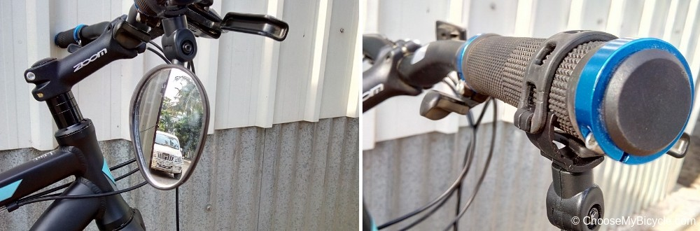 Firefox Bicycle Mirror Handlebar Oval Snapshot Review