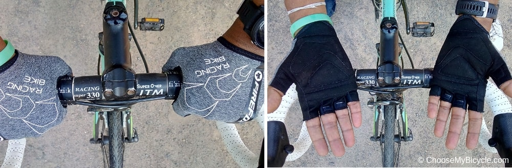 Firefox Cycling Gloves - Black/Grey Snapshot Review