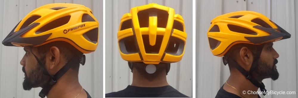 Firefox Inmould Helmet - Matte Orange Review