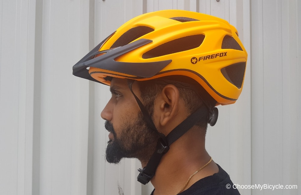 Firefox Inmould Helmet - Matte Orange Review