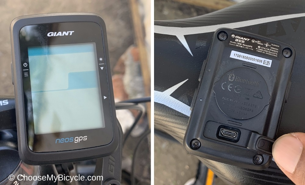 Giant Neos GPS Snapshot Review