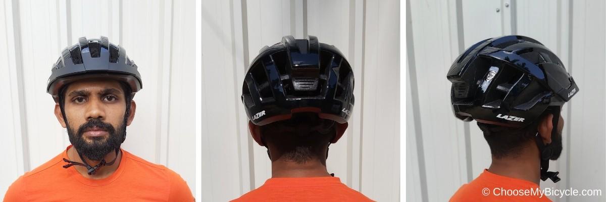 Lazer Compact Helmet - Black Snapshot Review