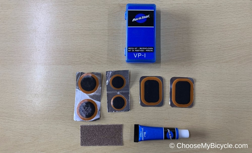 Park Tool Vulcanizing Puncture Patch Kit Snapshot Review