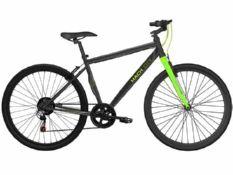 mach city munich 21 speed 2016 black with green