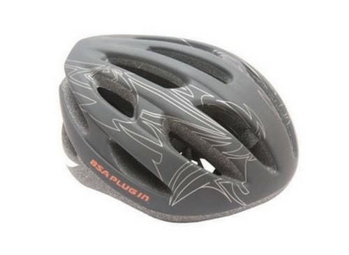 5 must buy cycling helmets-bas plugin helmet black