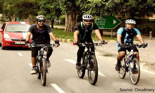 Delhi to get India's first elevated Cycle Track